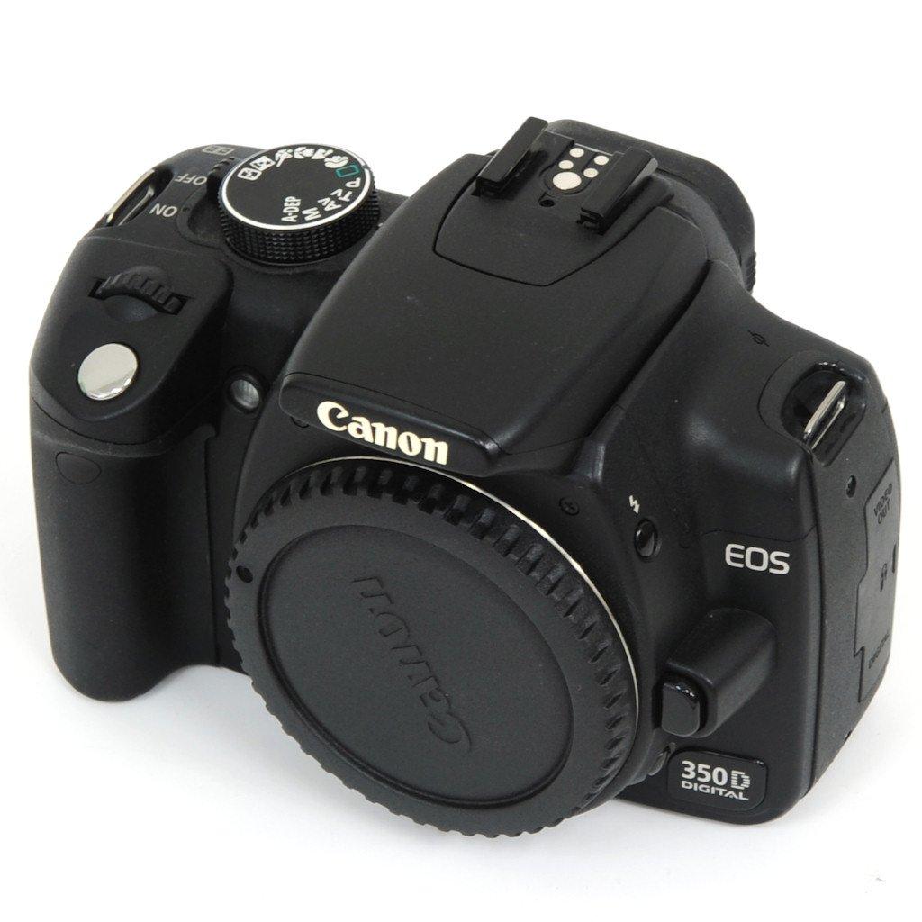 USED] Canon EOS 350D Digital SLR Camera + EF-S 18-55mm Lens