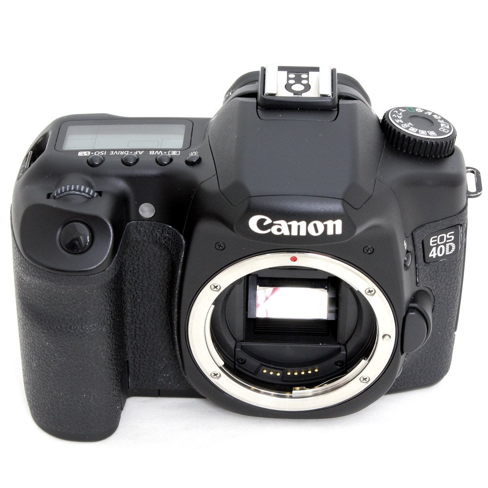 USED] Canon EOS 40D SLR Camera Body + 3 Memory Card + 2