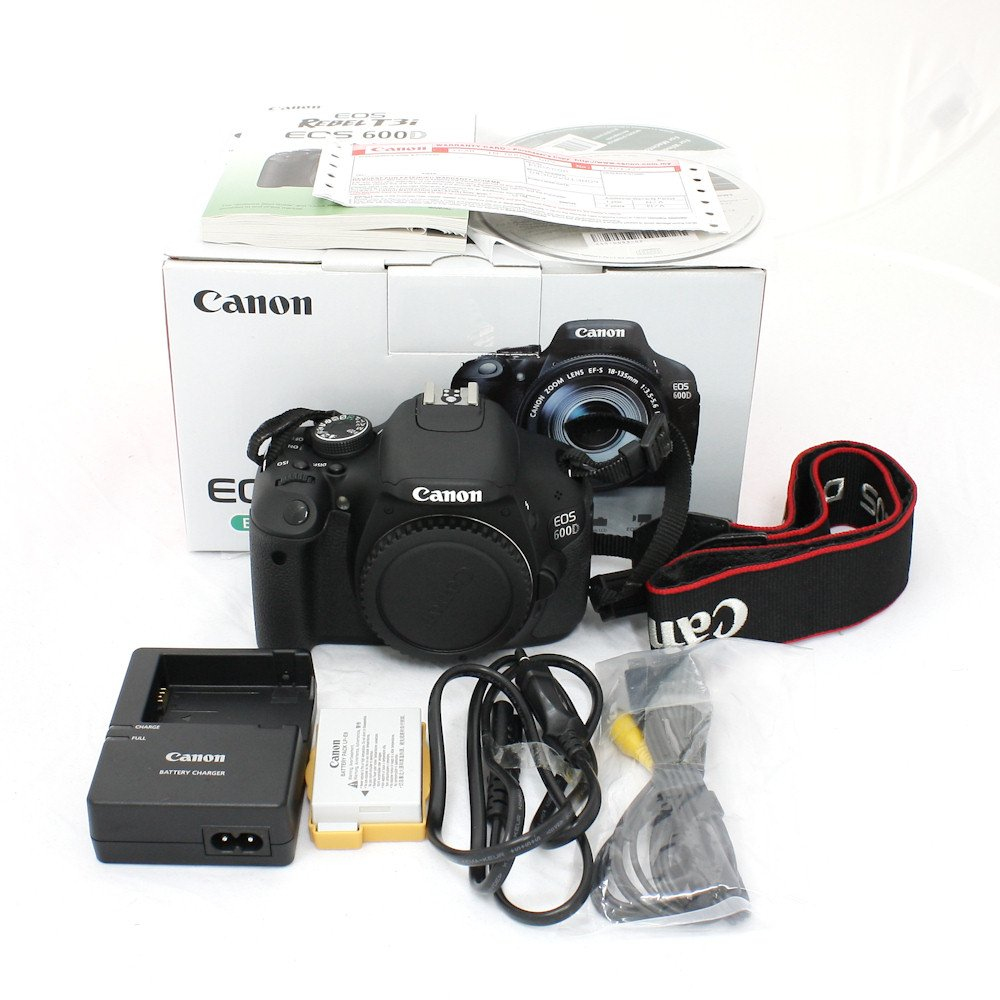 USED] Canon EOS 600D Digital SLR Camera Body Only (Excellent