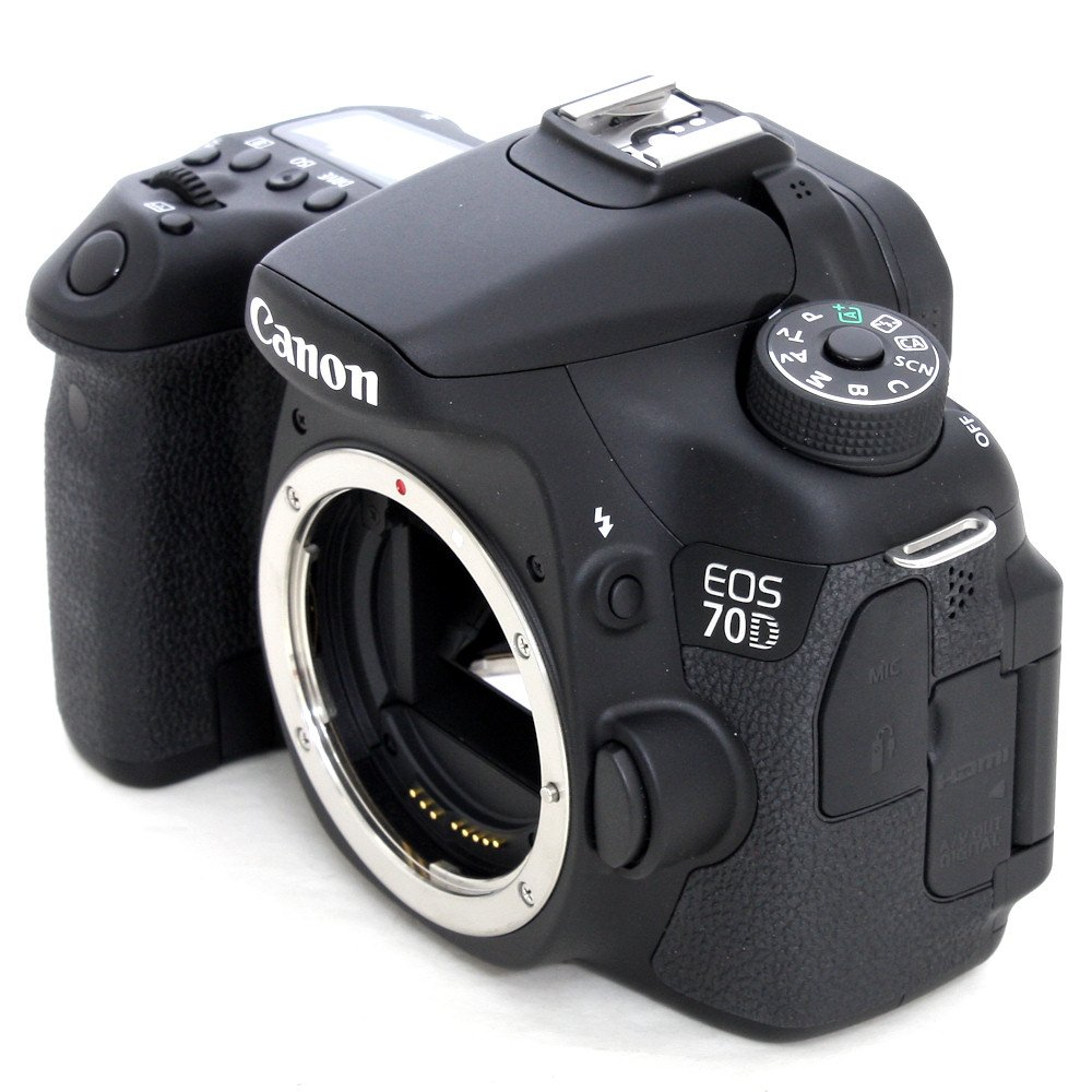 Used Canon Eos 70d Slr Camera Body S N 308058005218 Like New