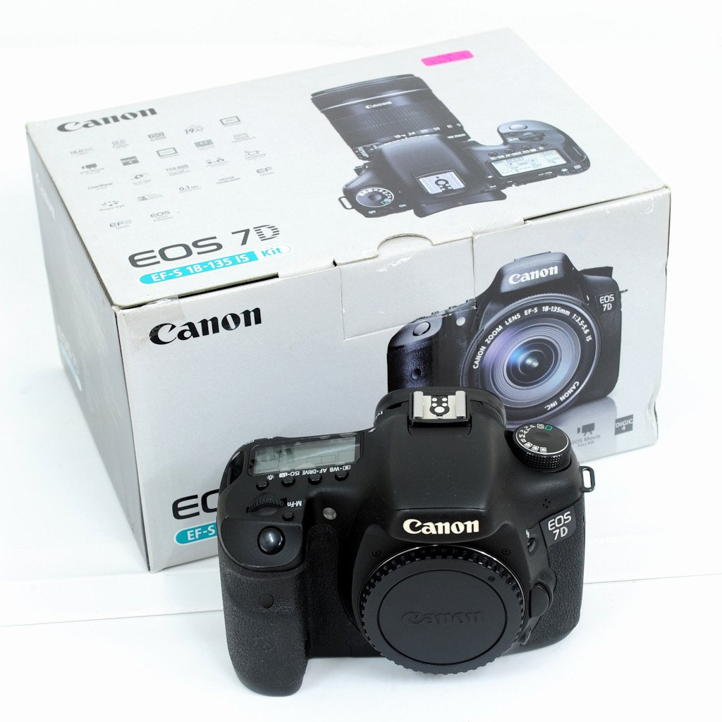 Used Canon Eos 7d Digital Slr Camera Excellent In Box 760d Body Only Dslr 760 Bo Shashinki Malaysia First Largest Online Shop