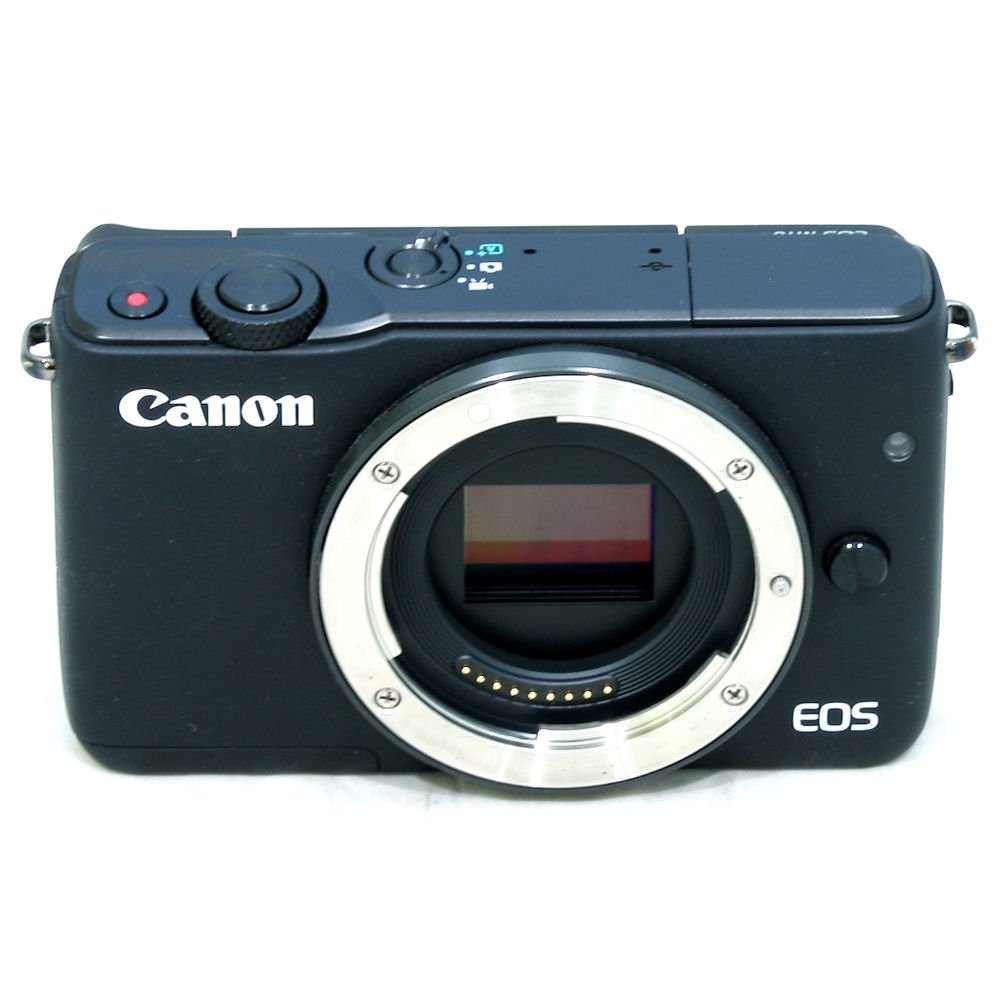 USED] Canon EOS M10 Mirrorless Digital Camera with EF-M 15