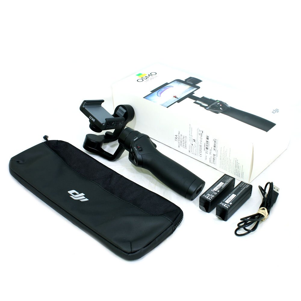 Used Dji Osmo Mobile Gimbal Stabilizer For Smartphones With 2 X Smartphone Batteries S N 0bskeb220000bd Near New In Box