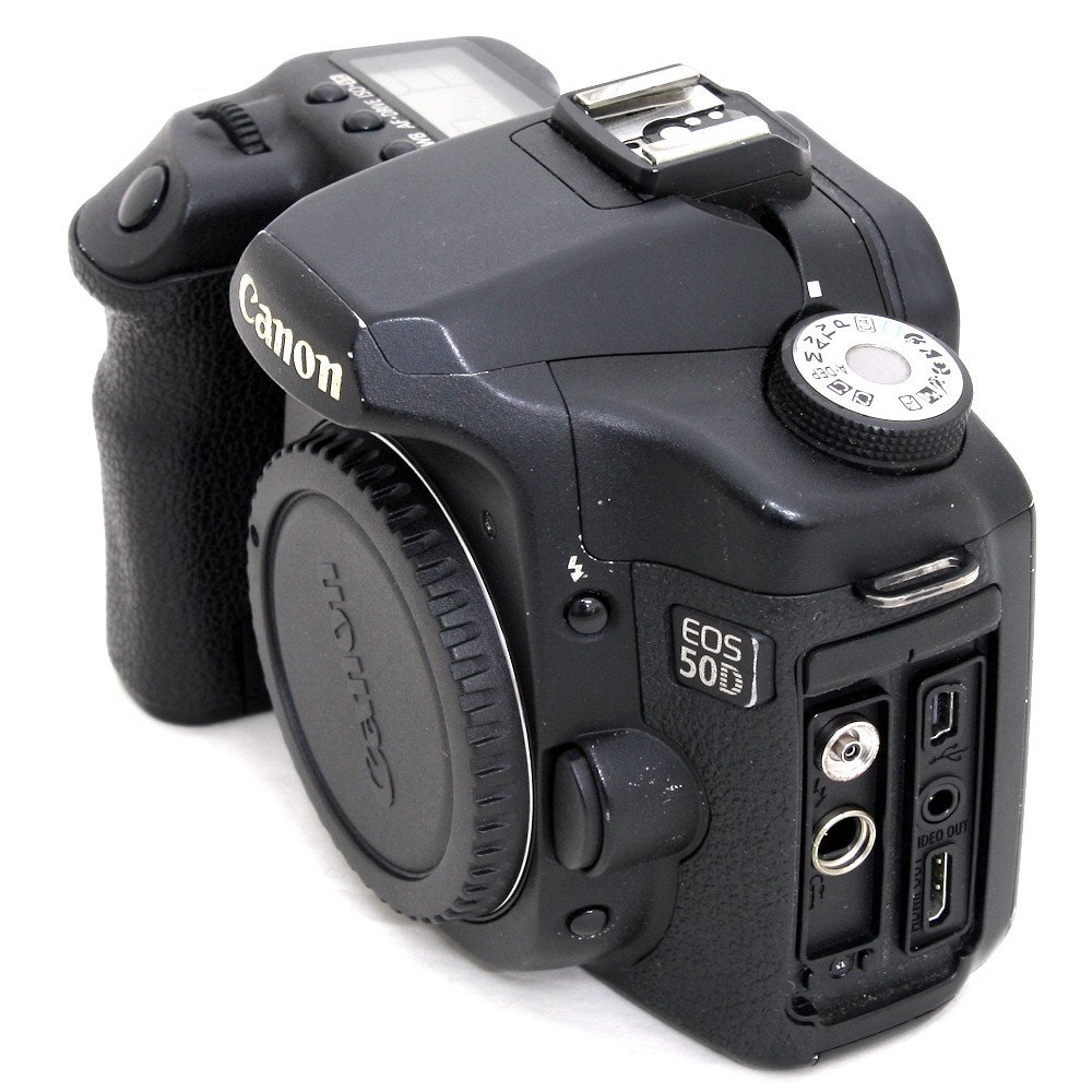USED] Canon EOS 50D SLR Camera Body (S/N: 0610403720) (Good