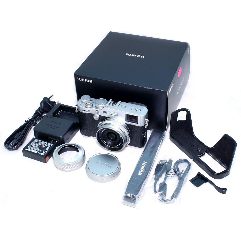 USED] Fujifilm X100F Digital Camera with Gariz Leather Half