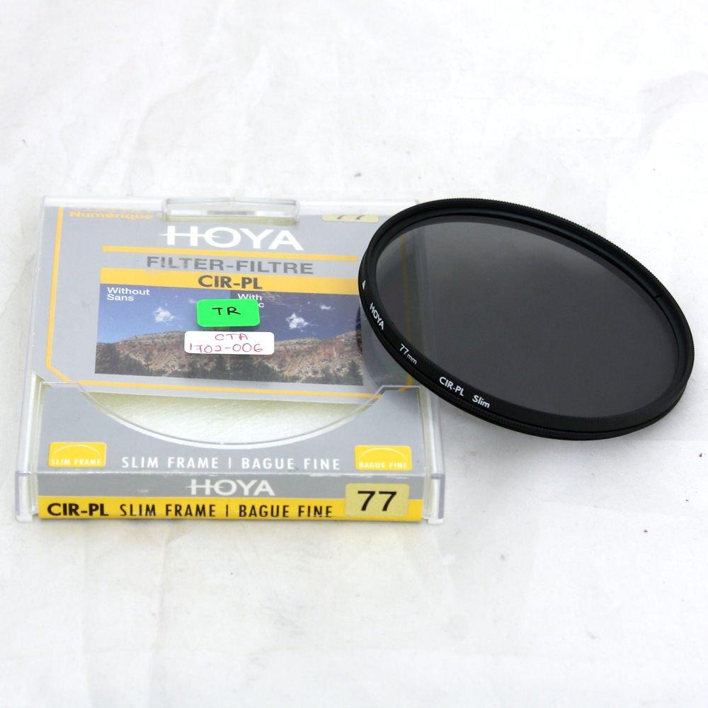 67f8cd5064db USED] Hoya 77mm Slim Frame CPL Circular Polarizer Filter (Near New ...