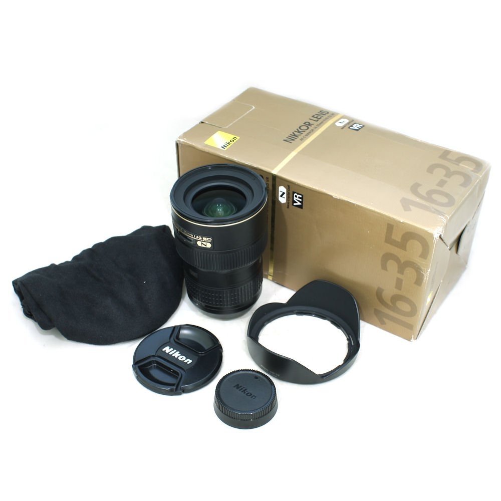 USED] Nikon 16-35mm f/4G AF-S ED VR Lens (S/N: 208507) (Near