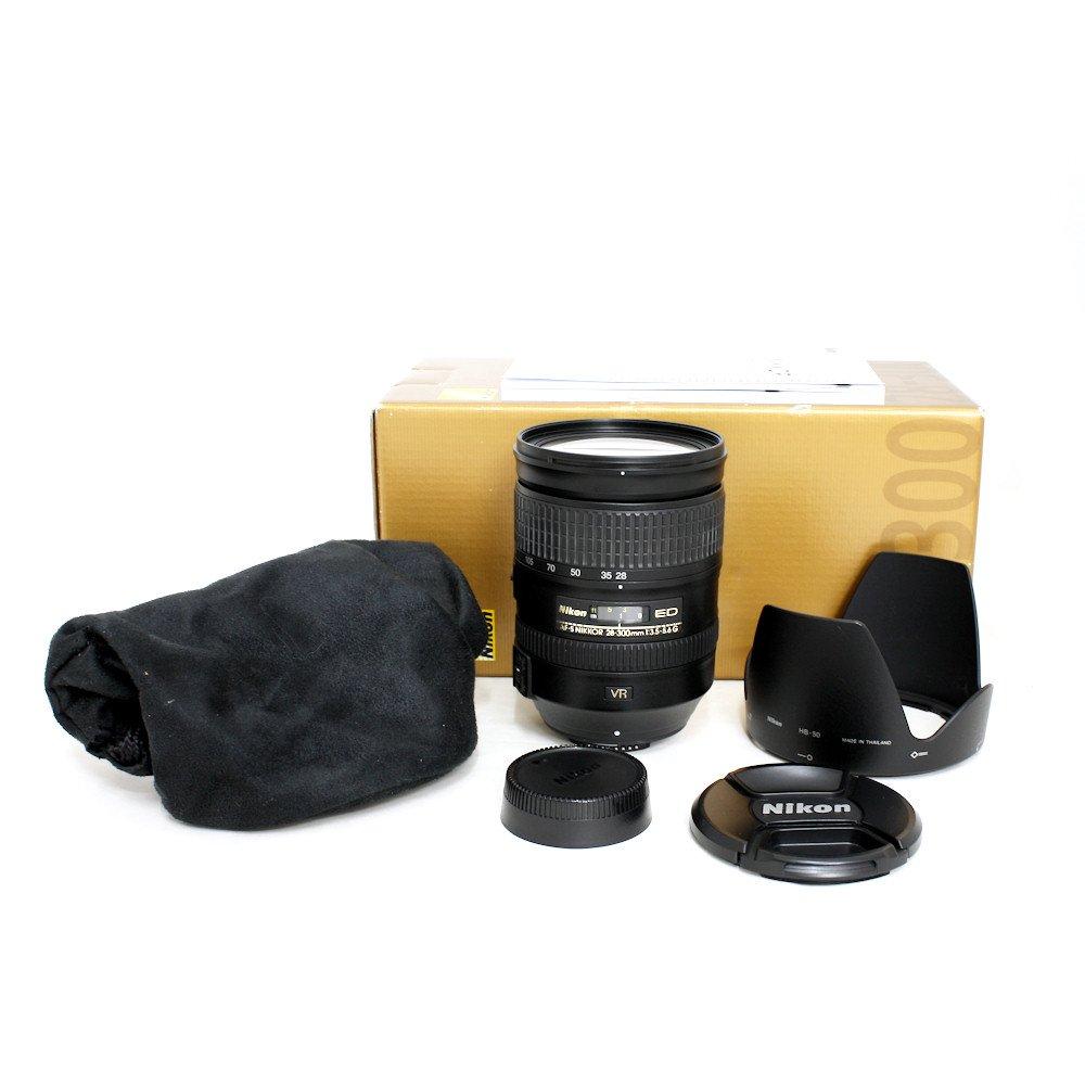 USED] Nikon 28-300mm f/3 5-5 6G AF-S NIKKOR ED VR Zoom FX Full Frame
