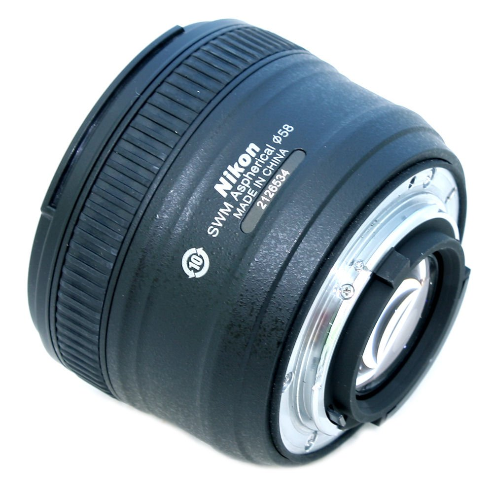 Used Nikon Af S 50mm F 18g Lens For N 2126534 Near New