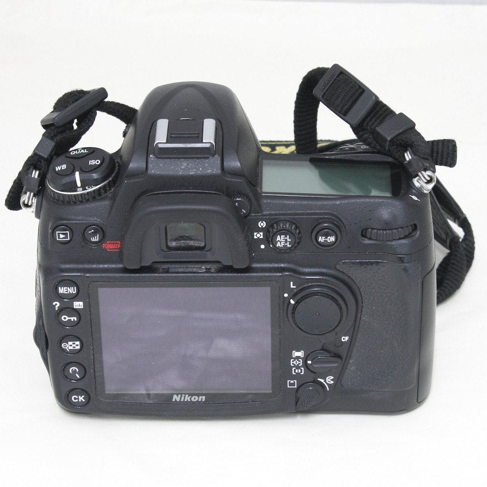 how to find shutter count d300