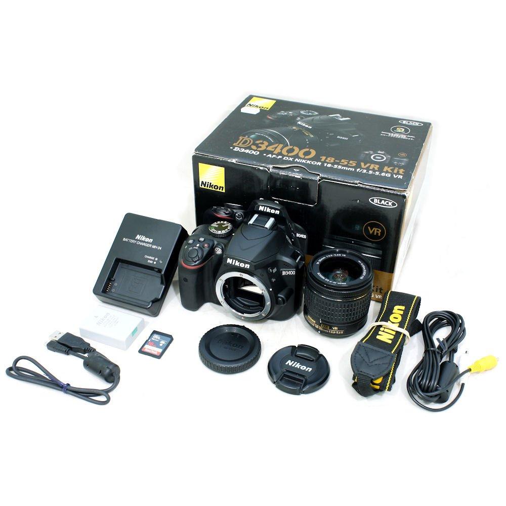 USED] Nikon D3400 DSLR Camera with AF-P 18-55mm f/3 5-5 6G