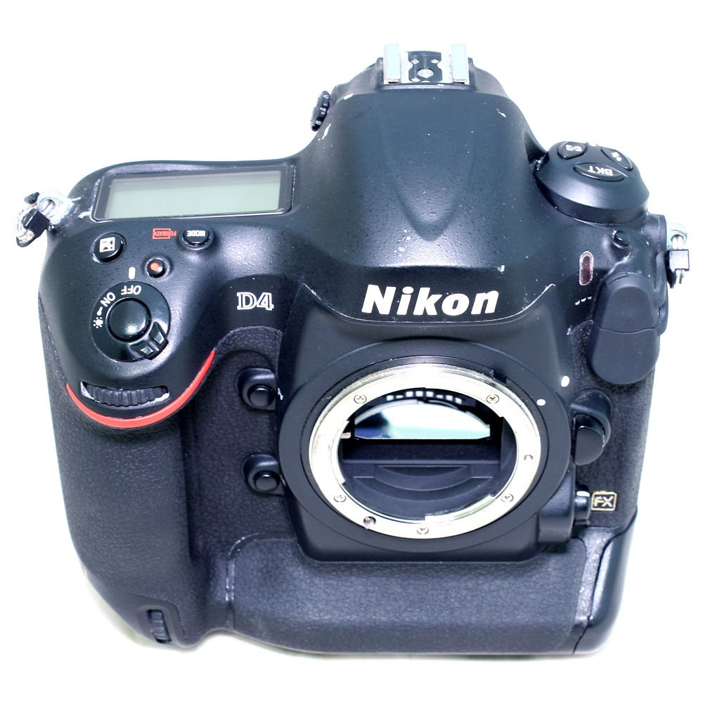 USED] Nikon D4 Full Frame DSLR Camera (S/N: 2040979) (Excellent In