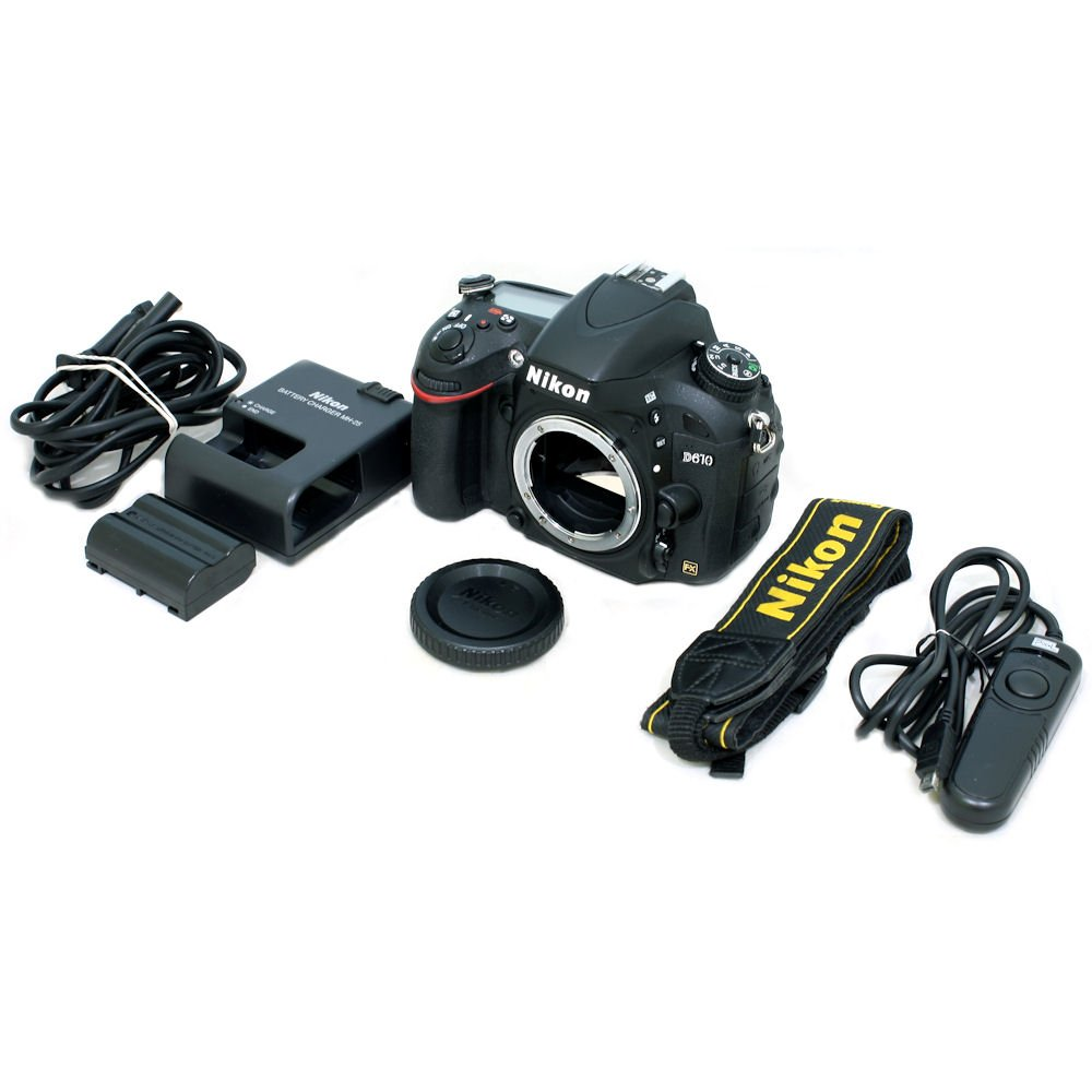 USED] Nikon D610 DSLR Camera (Body Only) With Shutter Remote