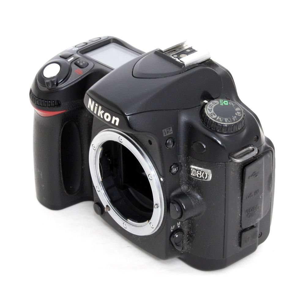 [USED] Nikon D80 DSLR Camera Body (S/N: 6025997) (Shutter ...