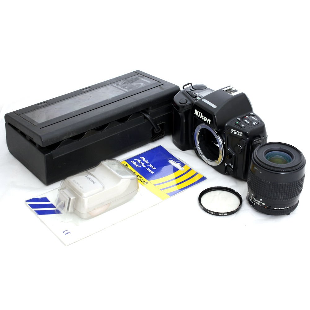 Apply Credit Card Online Malaysia >> [USED] Nikon F90X Film Camera SLR Body With Nikkor 35-80mm f/4-5.6D AF Zoom Lens (S/N: 2503978 ...