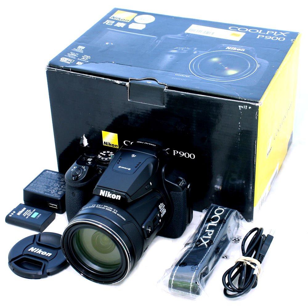 USED] Nikon COOLPIX P900 Digital Camera (S/N: 75016349