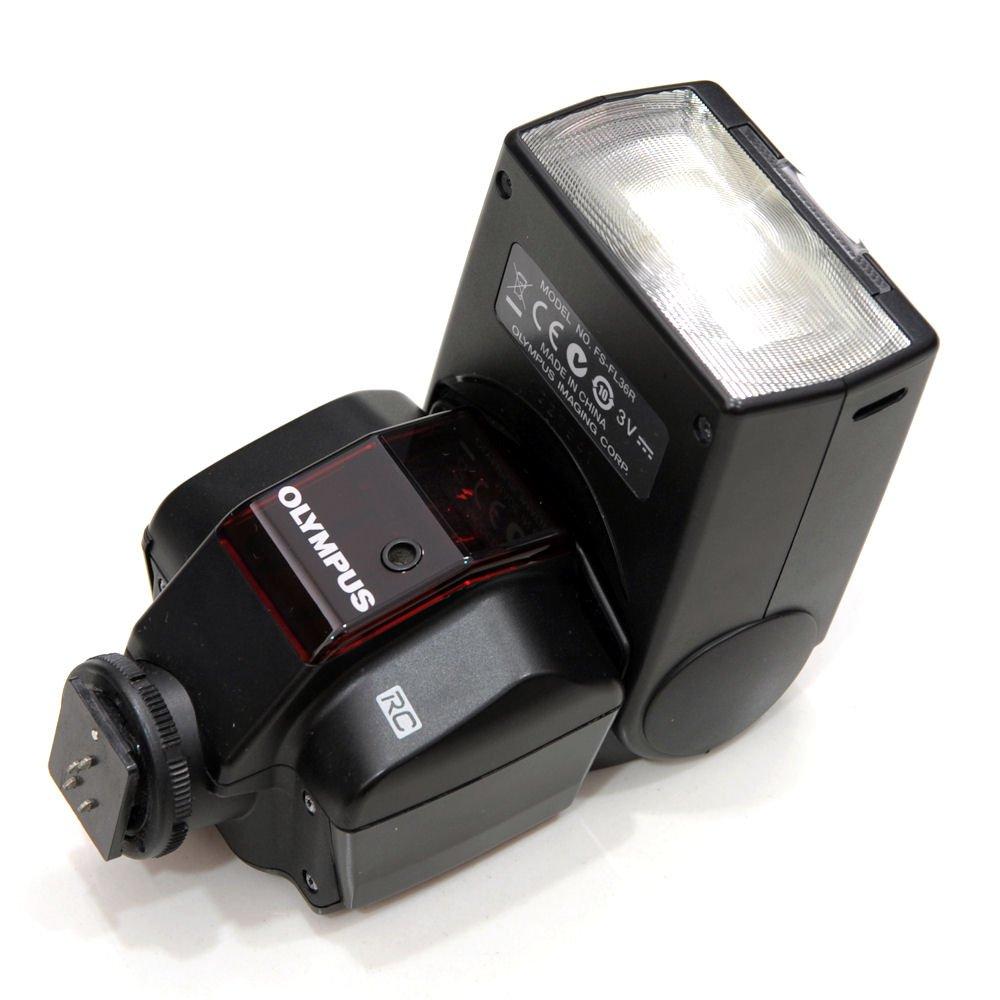 Used Olympus Fl 36r Wireless Electronic Bounce Swivel Head Flash