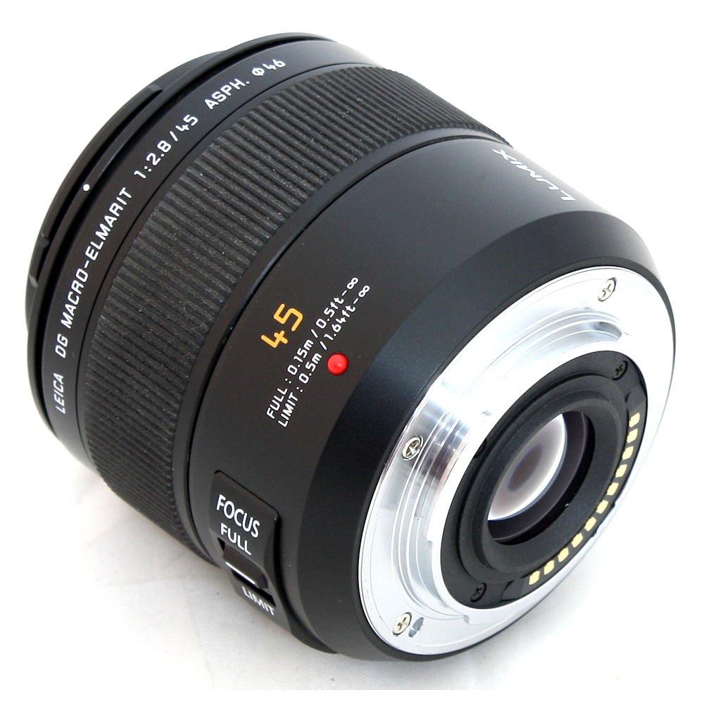 Used Panasonic Leica Dg Macro Elmarit 45mm F 28 Asph Mega Ois 200mm Power Lens