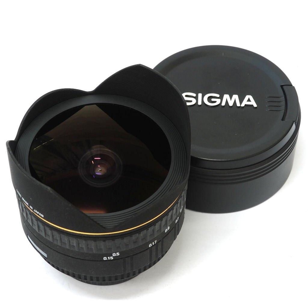 used sigma 15mm f 2 8 ex dg diagonal fisheye autofocus lens nikon af excellent in box sn. Black Bedroom Furniture Sets. Home Design Ideas