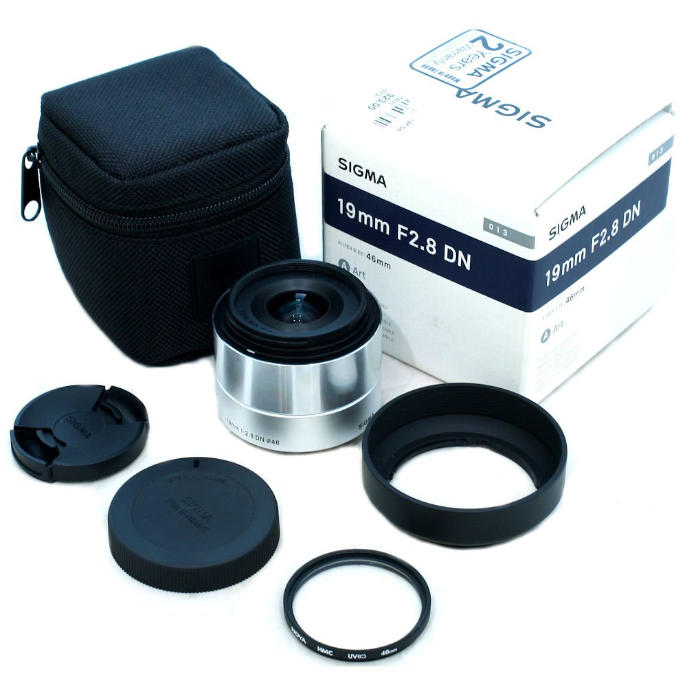 USED] Sigma 19mm f/2 8 DN Lens for Sony E-mount Camera with
