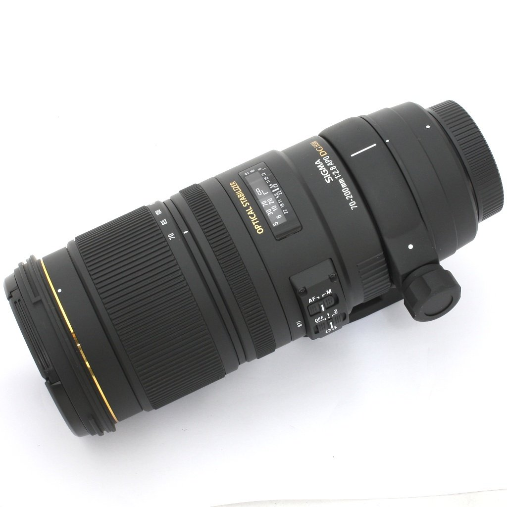 Used Sigma 70 200mm F 28 Ex Dg Os Hsm Telephoto Zoom Lens Nikon For 300mm 4 56 Af Excellent In Box Sn 12047001