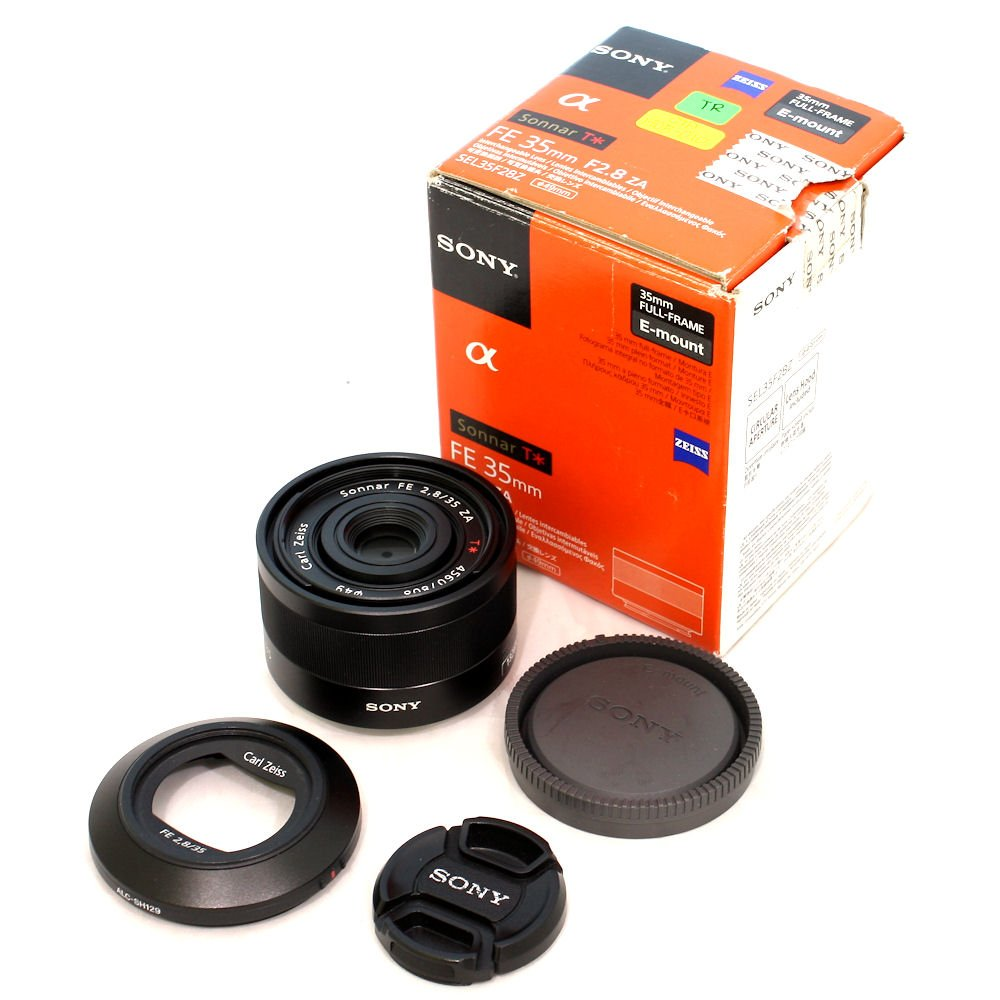 USED] Sony FE 35mm f/2.8 ZA Sonnar T* E Mount Full-Frame Lens (S/N ...