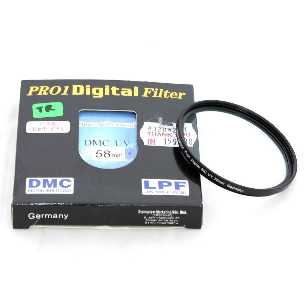 Used Steinzeiser 58mm Dmc Uv Pro 1 Filter Excellent In Box Hoya Digital Shashinki Malaysia First Largest Online Camera Shop