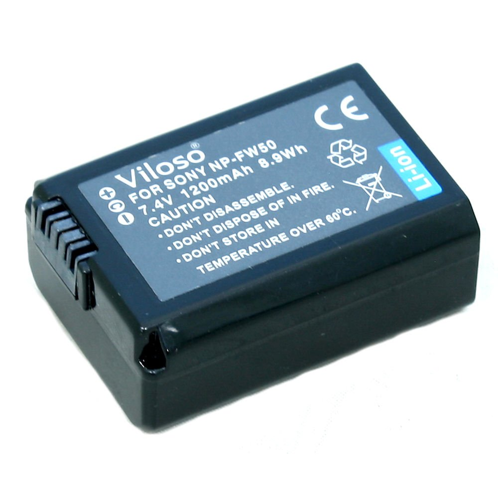 USED] Viloso NP-FW50 Lithium-Ion Battery (1200mAh, 7 4V) for