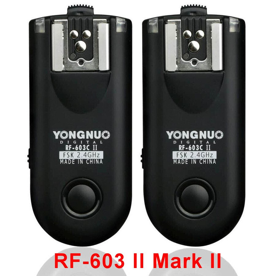 YongNuo RF-603C II Mark II C1 Flash Trigger Transceiver