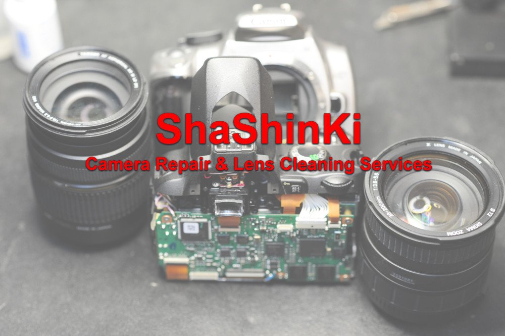 Repair and Service Faulty Camera Lens - ShaShinKi Online Camera Shop
