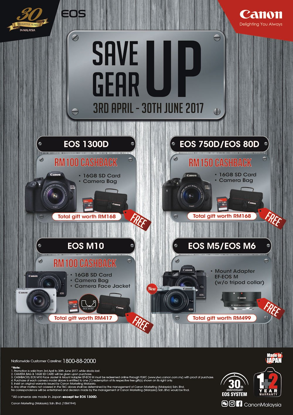 Canon Cash Back Promotions