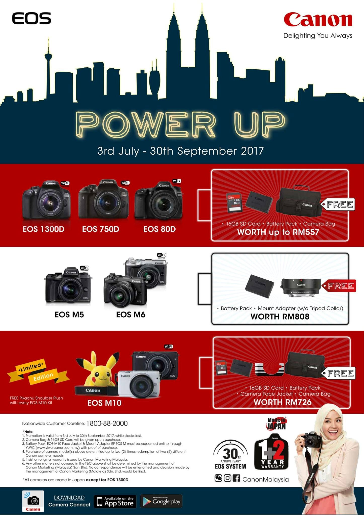 Canon Power Up Banner