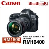 [Canon Prosperous] Canon EOS 5D Mark IV DSLR Camera with 24-105mm f/4L IS USM II Lens (Canon Malaysia)