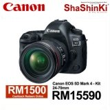 [Canon Prosperous] Canon EOS 5D Mark IV DSLR Camera with 24-70mm f/4L IS Lens (Canon Malaysia)