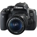 Canon EOS 750D DSLR Camera with EF-S 18-55mm f/3.5-5.6 IS STM Lens (Canon Malaysia)