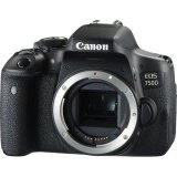 [Canon Prosperous] Canon EOS 750D DSLR Camera (Free 16GB Memory Card, Extra Canon Battery & Camera Bag Till 28th Feb 2018) (Body Only) (Canon Malaysia)