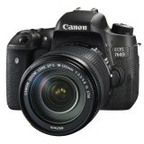 Canon EOS 760D DSLR Camera with EF-S 18-135mm f/3.5-5.6 IS STM Lens (Canon Malaysia)