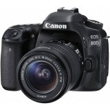 [Canon Prosperous] Canon EOS 80D DSLR Camera with EF-S 18-55mm f/3.5-5.6 IS STM Lens (Free 16GB SD Card, Extra Canon Battery & Camera Bag Till 28th Feb 2018) (Canon Malaysia)