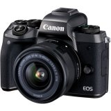 [Canon Prosperous] Canon EOS M5 Mirrorless Digital Camera with 15-45mm Lens (Free 16GB Memory Card, Extra Canon Battery, Camera Bag & Mount Adapter without Tripod Collar Till 28th Feb 2018) (Canon Malaysia)