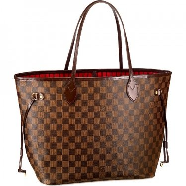 Authentic Original Louis Vuitton Lv Neverfull Mm Damier Canvas Tote Bag N51105