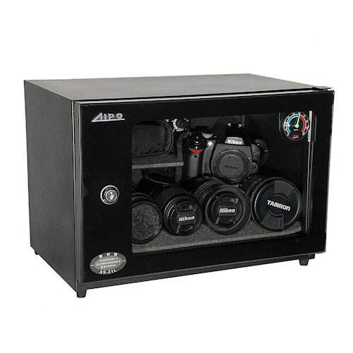 AIPO Analog Series AS-21L Dry Cabinet (21L) - Black