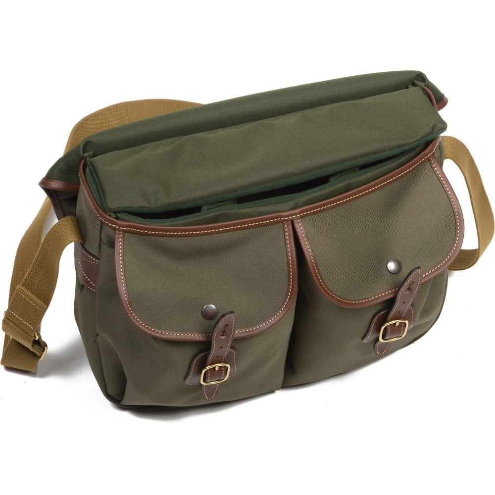 Billingham Hadley Large Shoulder Bag (Sage with Tan ...