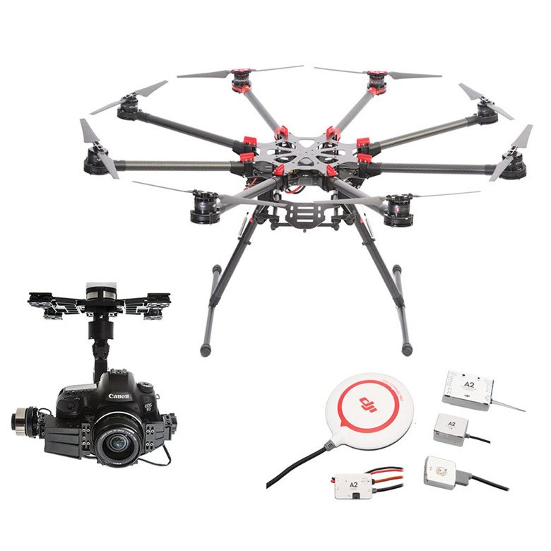 DJI Spreading Wings S1000+ with Z15-5DIII (HD) Gimbal and