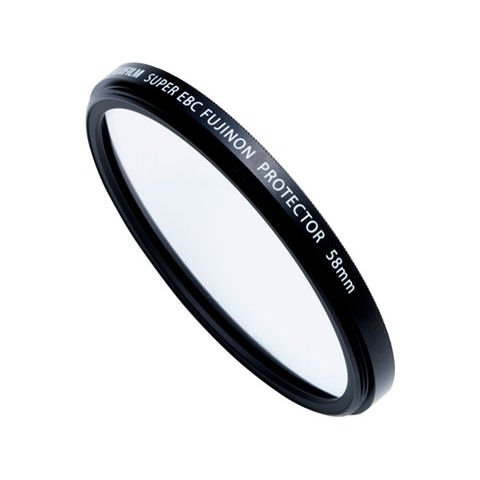 Fujifilm PRF 58 58mm Protector Filter For Fujifilm FinePix