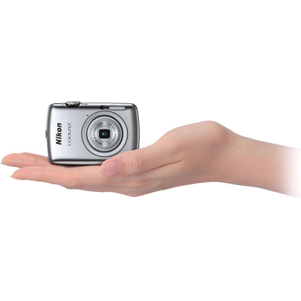 Nikon COOLPIX S01 Digital Camera (Silver) (IMPORT