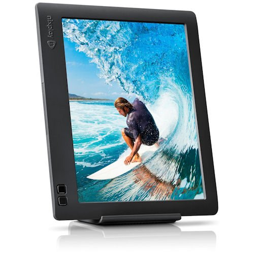 nixplay edge 8 inch wi fi cloud digital photo frame with hi res display