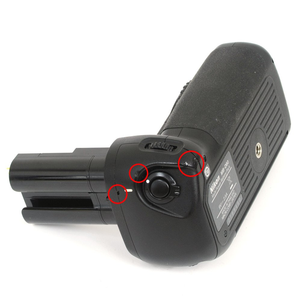 [USED] Nikon MB-D80 Battery Pack for Nikon D80 and D90 ...