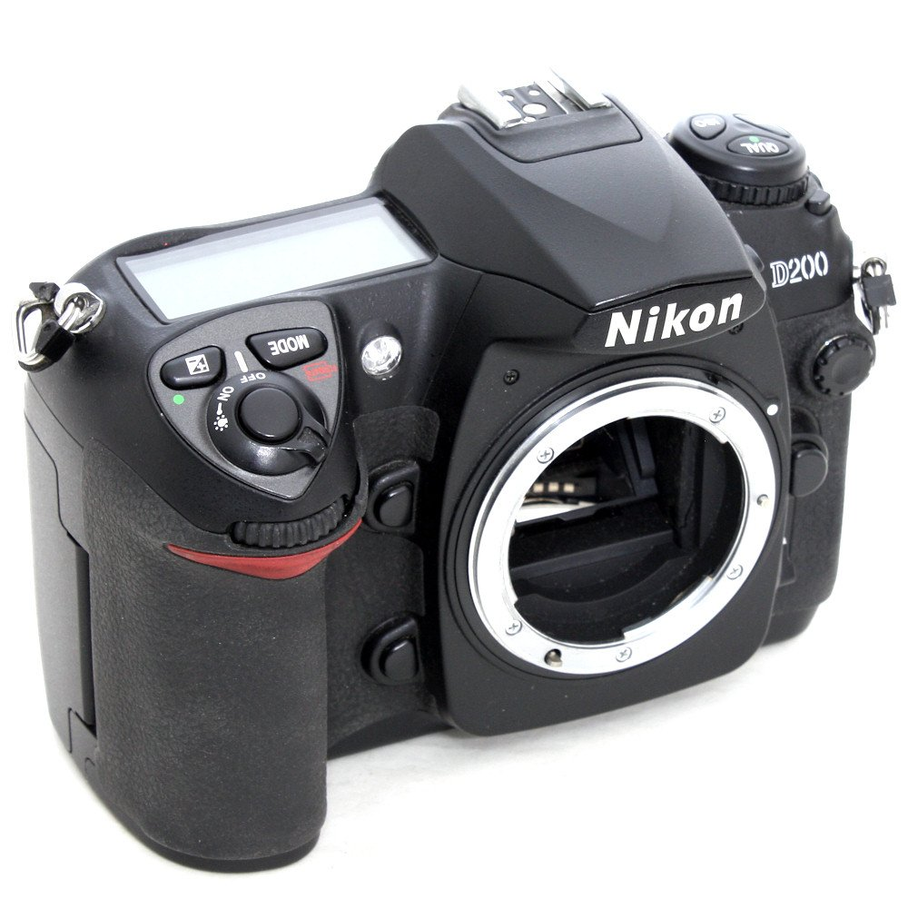 [USED] Nikon D200 SLR Camera with MB-D200 Battery Grip (S ...